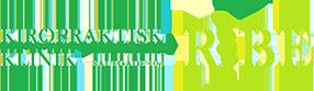 Kiropraktisk Klinik Ribe | Hos os er dialog og personlige behov, en naturlig del af besøget. Logo